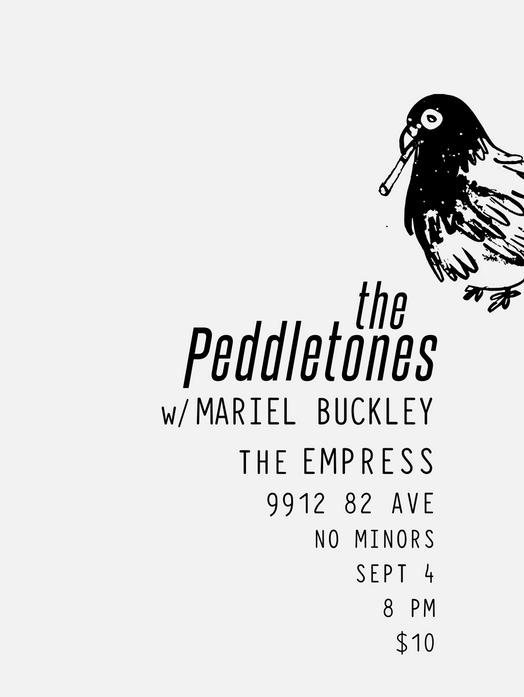 Gig Poster - The Peddletones