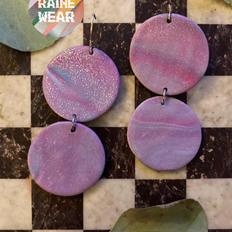 Disco Circles in Purple