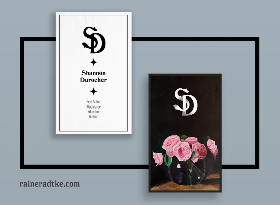 Shannon Durocher Business Card & Monogra