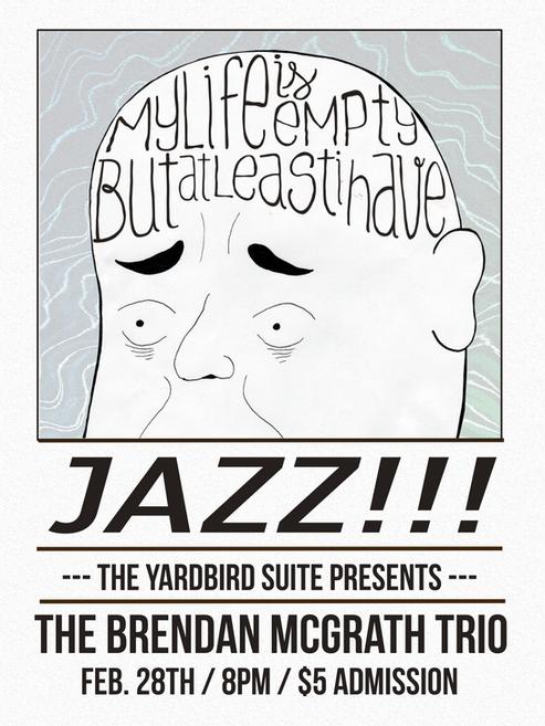 Yardbird Suite Jam Poster