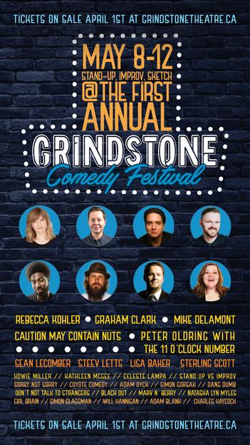 Grindstone Comedy Festival 2019 Pattison