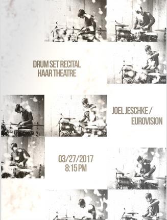 Joel Jeschke Recital Poster