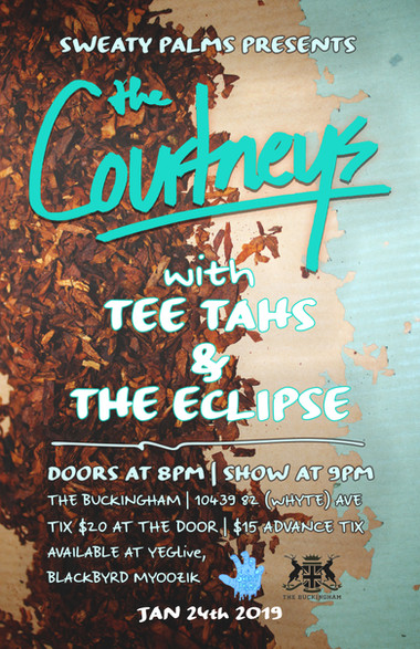 Gig Poster - the Courtneys