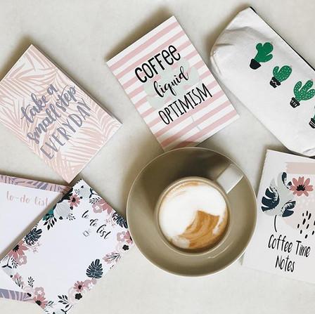 Kirtasiye bölümümüzün yenilenmesini latteyle kutluyoruz ☕️📒🎈