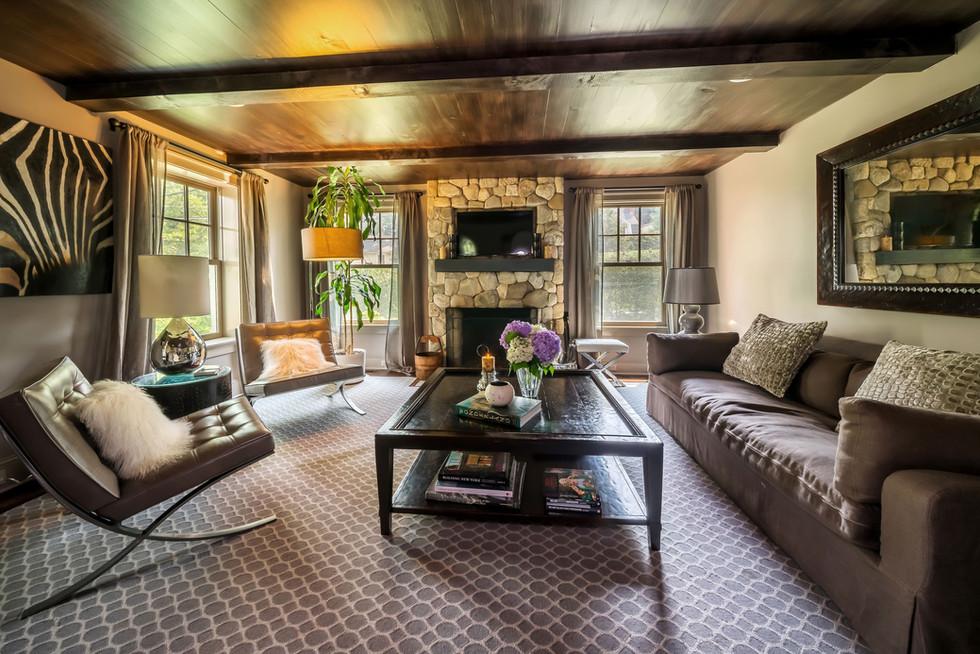 Cos Cob Park View Living Room