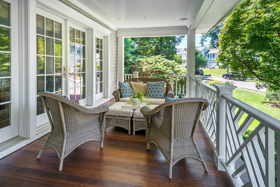 Cos Cob Gem Porch