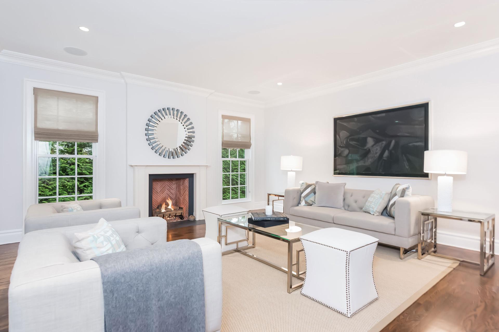 Pelham Manor Living Room