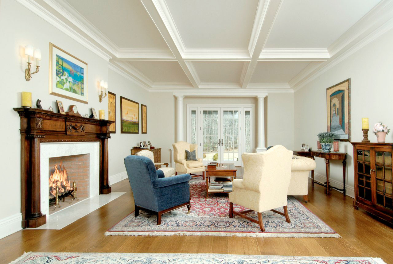 North Greenwich Country Estate Living Room