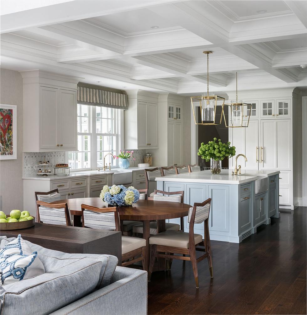 Belle Haven Colonial Kitchen