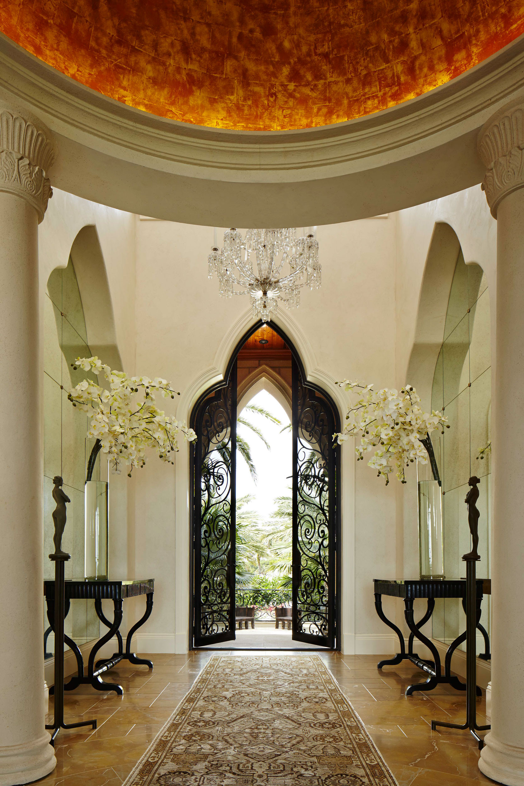 South Palm Beach Estate Foyer