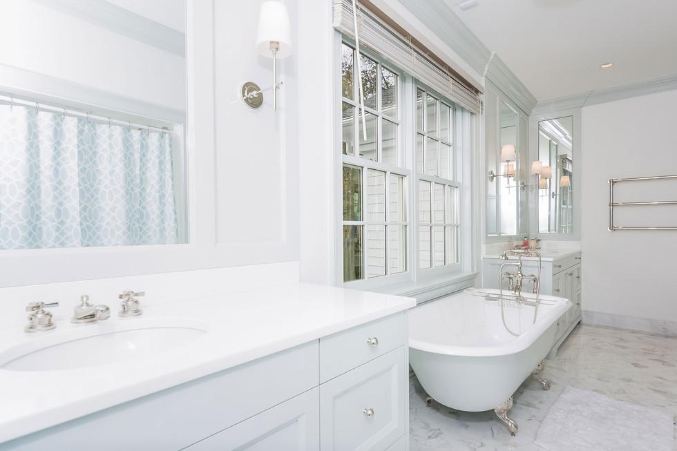 Pelham Manor Master Bathroom