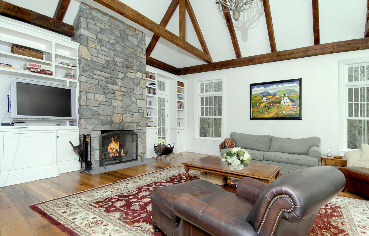 North Greenwich Country Estate Family Room
