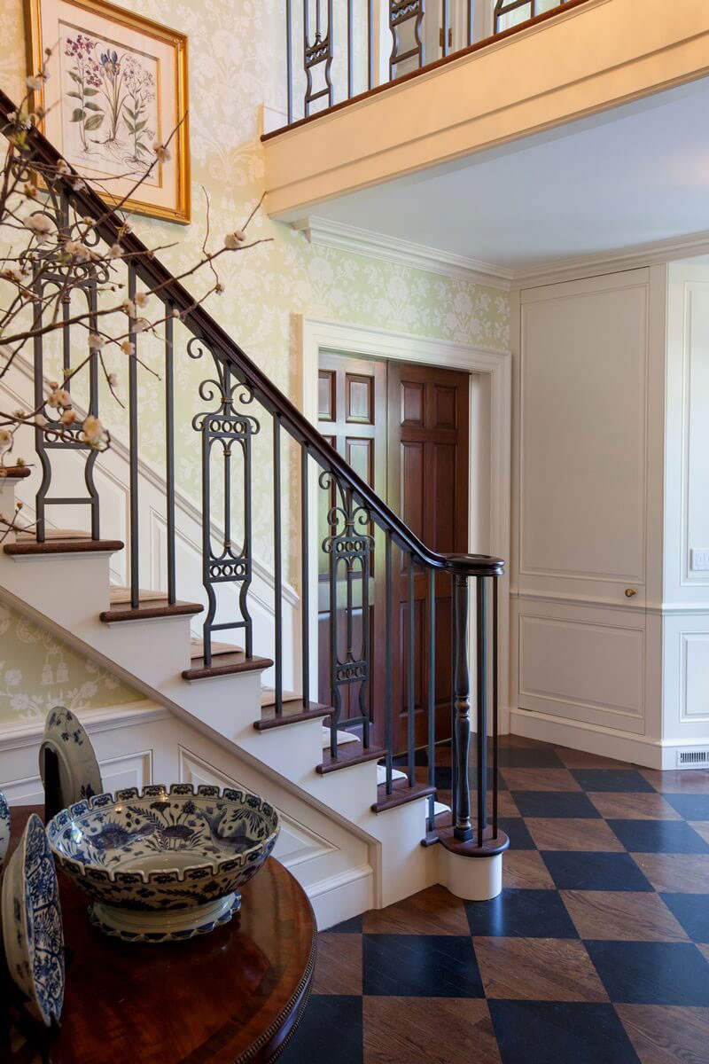 New Canaan Classic Foyer
