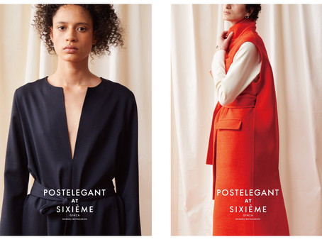 POSTELEGANT POP UP AT SIXIEME GINZA