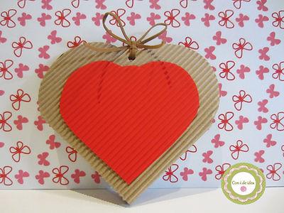 Corazón caja