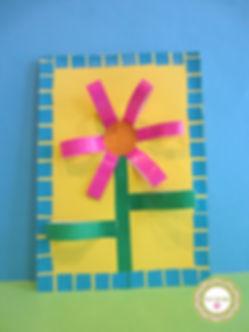 Tarjeta con flor