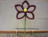 Flor de lana