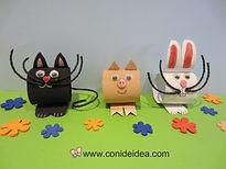 Animales sw cartón