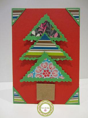 Tarjeta de Navidad en 3D