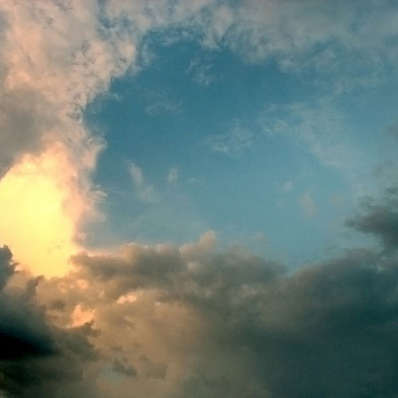 Light & Clouds in the Sky