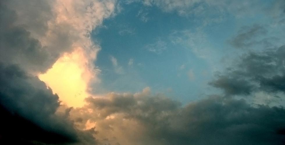 ciel eclaircie