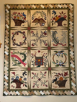 Bed Quilts, 3rd place