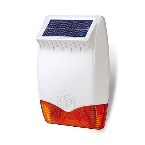 Solar Siren & Strobe Light