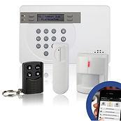 สัญญาณกันขโมย, wireless alarm, GSM alarm