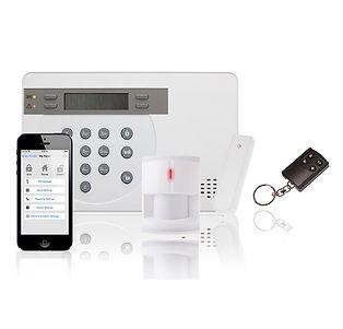 ระบบสัญญาณกันขโมยไร้สาย, Wireless Alarm, GSM Alarm