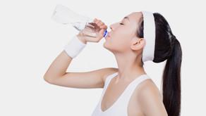 運動時は熱中症予防を!