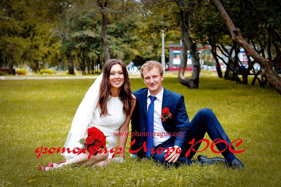 свадебные фотографии, фотограф Игорь Рос Новосибирск.