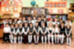 общая фотография класса в школе