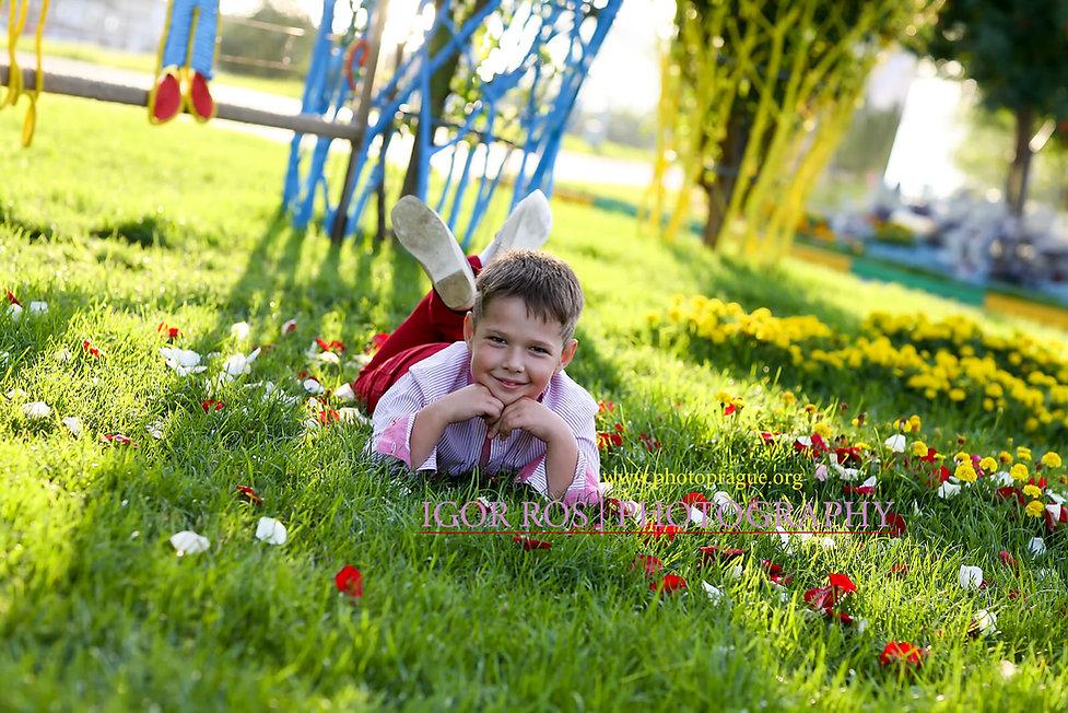 Детский фотограф Игорь Рос Новосибирск, фотосессия на дне рождения