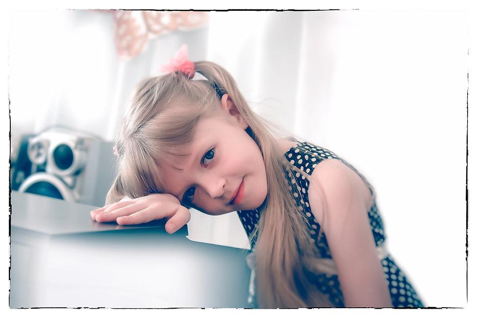 фотограф Игорь Рос, портретная детская фотосессия в Новосибирске.