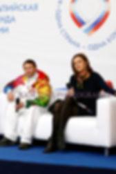 олимпийский чемпион Евгений Подгорный, Дзюба Ирина Юрьевна