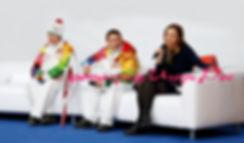 Олимпийские Чемпионы Новосибирска Черязова Лина Анатольевна, Евгений Подгорный, Дзюба Ирина Юрьевна, фотограф Игорь Рос