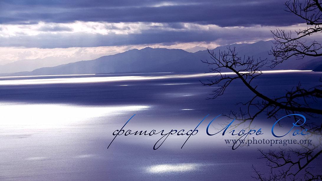 озеро Байкал, главная страница сайта, фотограф Игорь Рос.