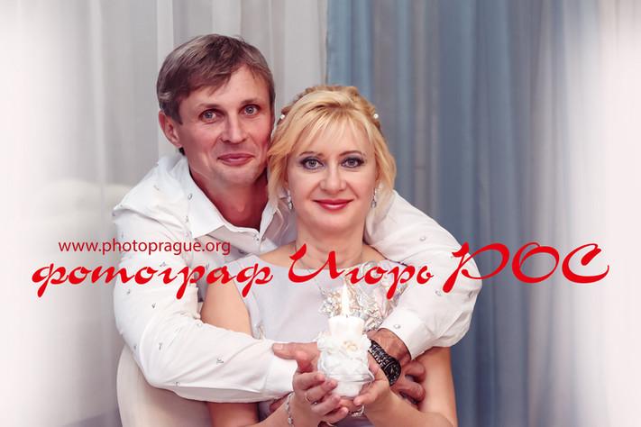 серебрянный юбилей свадьбы, фотограф Игорь Рос.