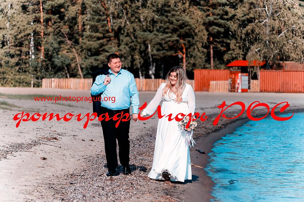 свадебные фотографии у моря, фотограф Игорь Рос Новосибирск