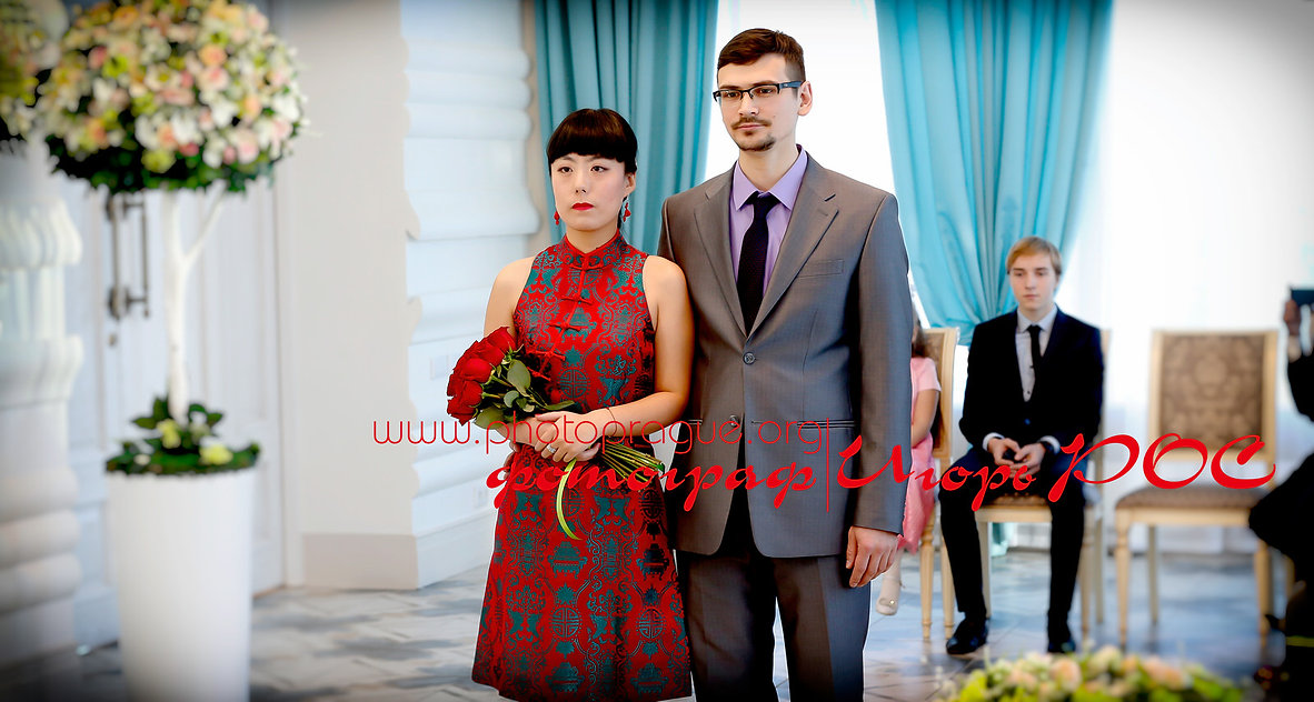 Дворец бракосочетания в Новосибирске, торжественный момент, фотограф Игорь Рос