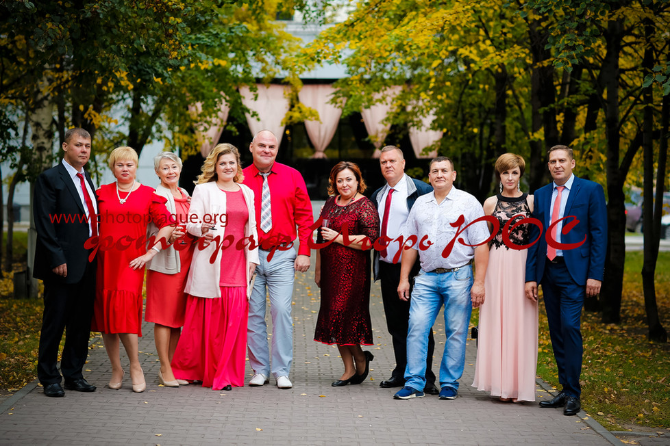 свадебные фотографии, родственники, фотограф Игорь Рос Новосибирск.