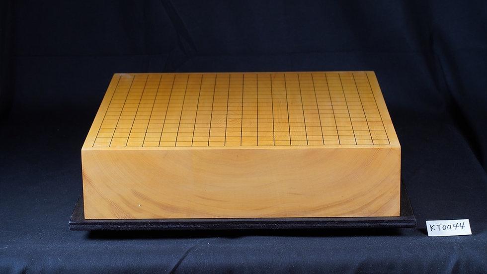 【KT0044】日本産本榧 板目(木裏) 一枚盤 卓上碁盤
