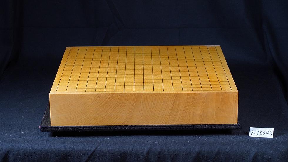 【KT0045】日本産本榧 柾目 一枚盤 卓上碁盤