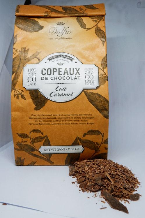 Dolfin Belgian Chocolate Flakes Caramel