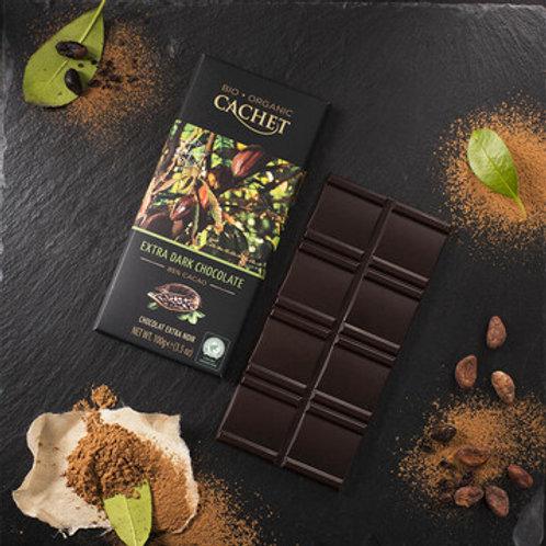 Cachet Organic Chocolate - 85% cacao Extra Dark Chocolate
