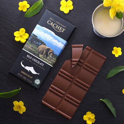 Cahet Organic Chocolate - 40% Milk Chocolate