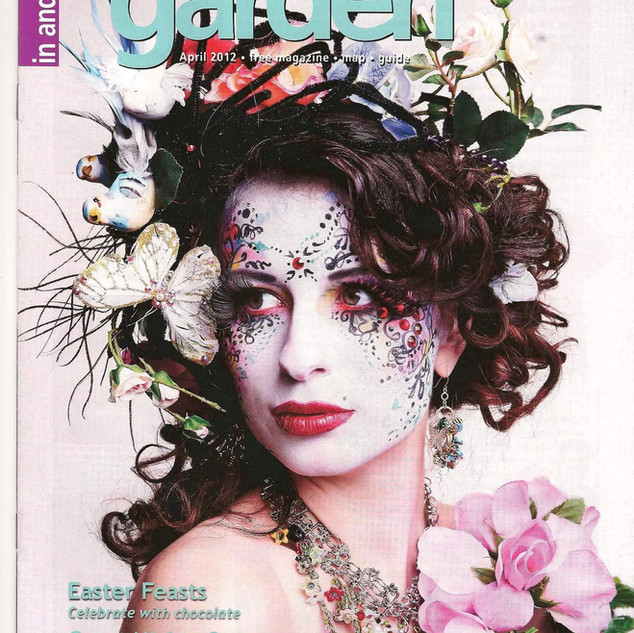 Anna on the cover of Covent Garden magazine.