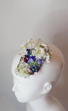 Cherry blossom glam hairclip / brooch