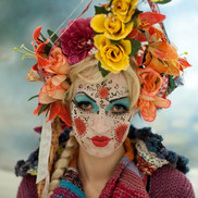 Artist Lenka photographed by Slawomir Latko.