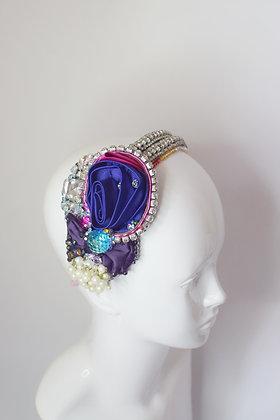Gatsby / flapper crystals headband  headpiece